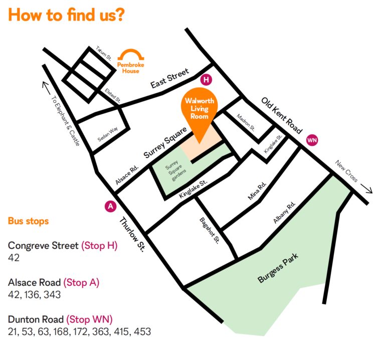 map of how to find us